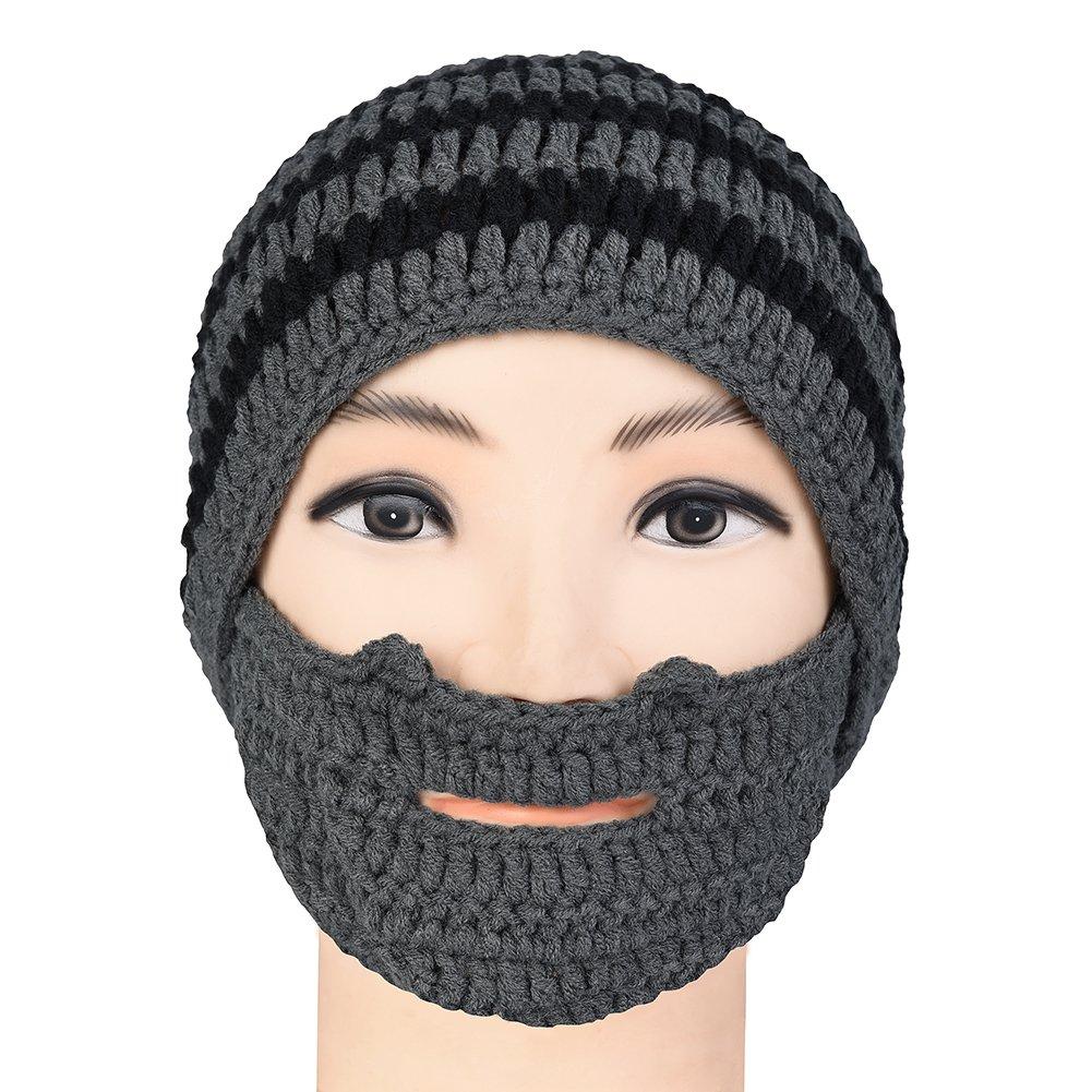 874f4f072b8 Vbiger Beard Hat Beanie Hat Knit Hat Winter Warm Octopus Hat Windproof Funny  for Men   Women  Amazon.in  Beauty