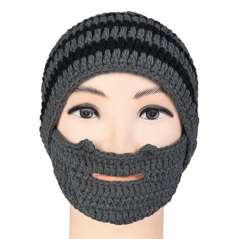 9346623a29a Vbiger Beard Hat Beanie Hat Knit Hat Winter Warm Octopus Hat Windproof Funny  for Men   Women  Amazon.in  Beauty