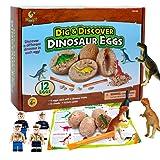 12 PCS Dinosaur Eggs Jurassic Dinosaur Birthday