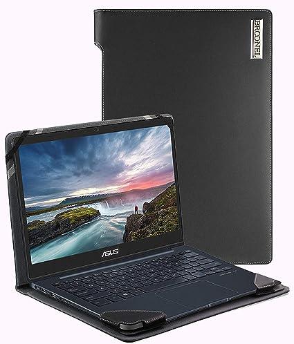 Broonel - Funda de Piel para portátil ASUS Chromebook Flip ...