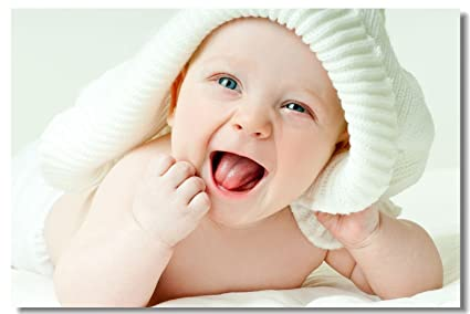amazon com 1x poster babyhood newborn baby kids boys child cute
