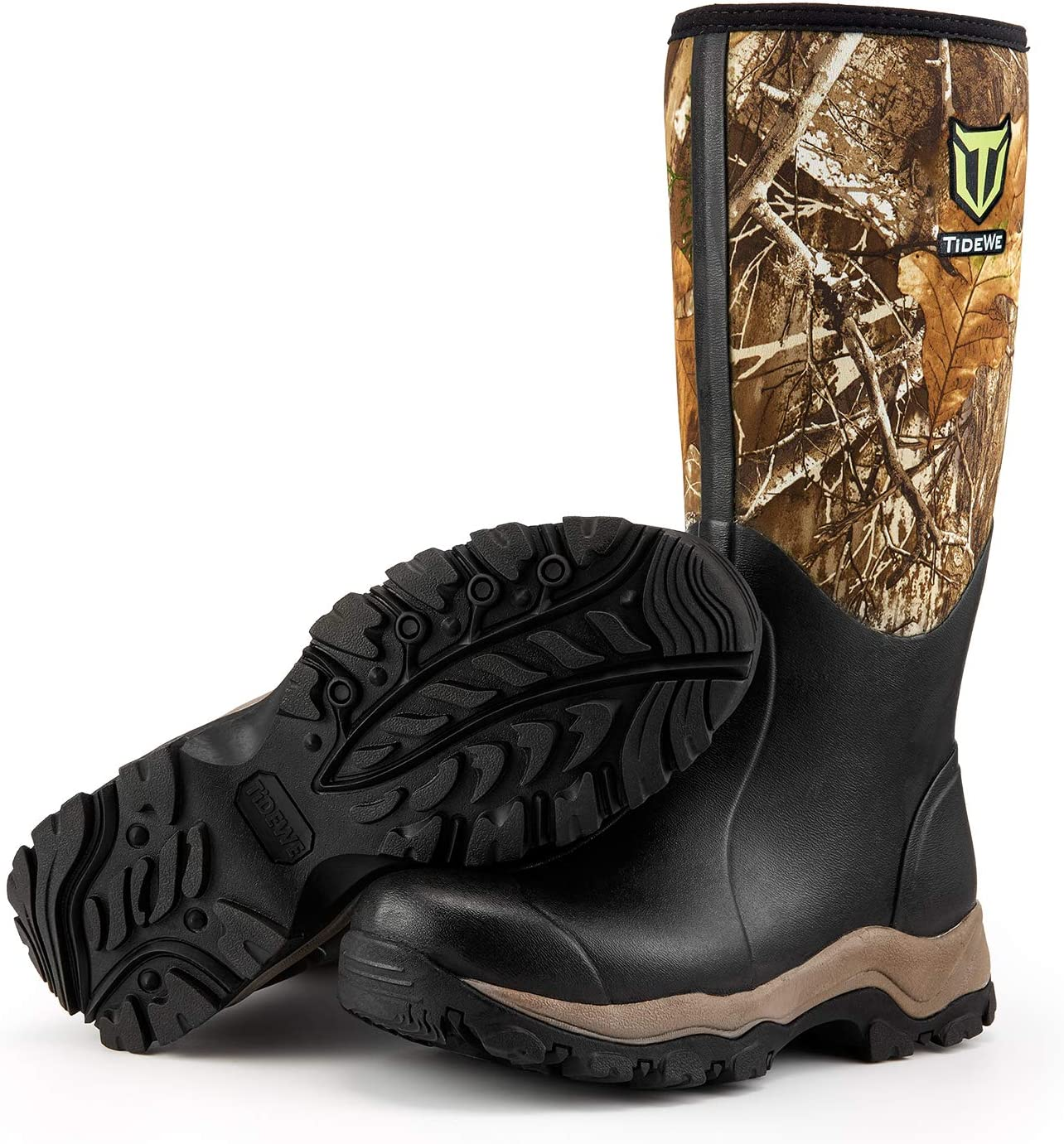 TIDEWE Hunting Boot for Men, Insulated Waterproof Durable 16