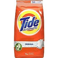 Tide Automatic Original Scent Detergent Powder - Front & top load - 6 Kg, Pack of 1