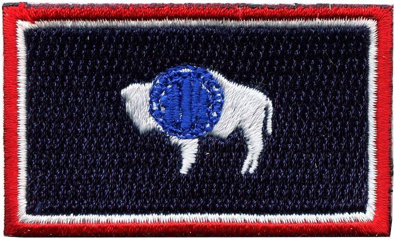 Wyoming Cheyenne Amerika Usa Us Bundesstaaten Patch Aufnäher Aufbügler 0066 Auto