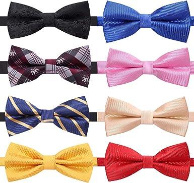 Adjustable Men/'s Bow Tie Necktie Bowtie Male butterfly tie