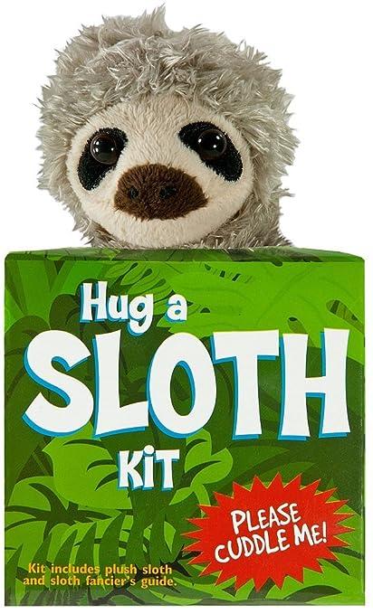 Amazon Com Sloth Rescue Adoption Kit Plush Stuffie Gift Toys Games