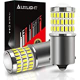 AUXLIGHT 1156 BA15S 1003 1141 7506 LED Bulbs Xenon White, Ultra Bright 57-SMD LED Replacement for Back Up/Reverse Lights…