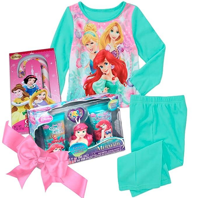 Amazon.com: Disney Princess Fleece Pijamas Set de regalo con ...