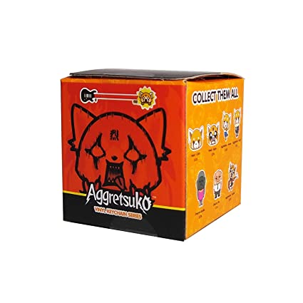 Amazon.com: Aggretsuko Kidrobot - Llavero con forma de ...