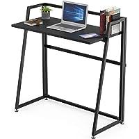 EUREKA ERGONOMIC Modern Folding Computer Desk Teen Student Dorm Study Desks 33-inch Fold up Desk, Easy to be Folded or…