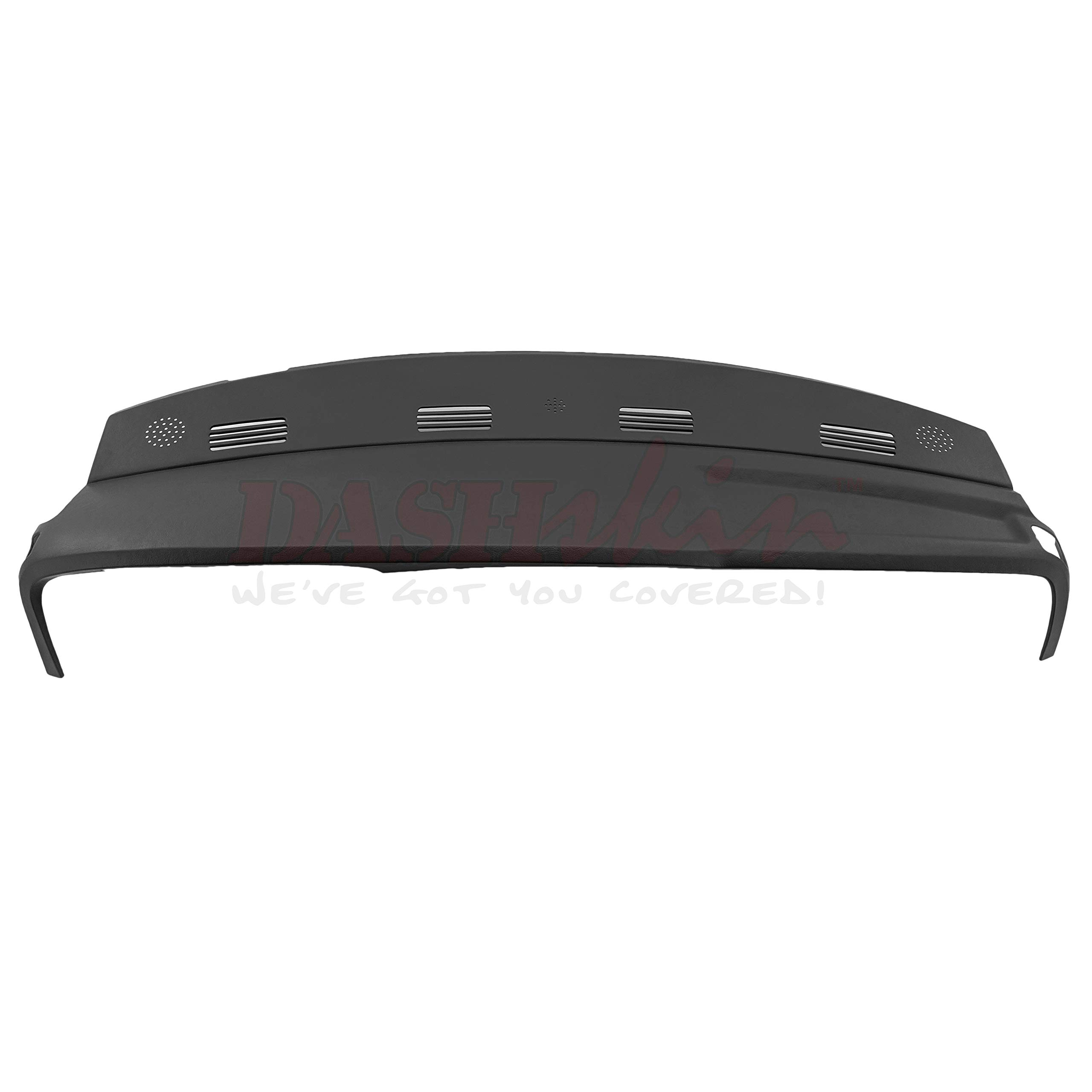 DashSkin Molded Dash Cover Compatible with 02-05 Dodge Ram in Dark Slate Grey