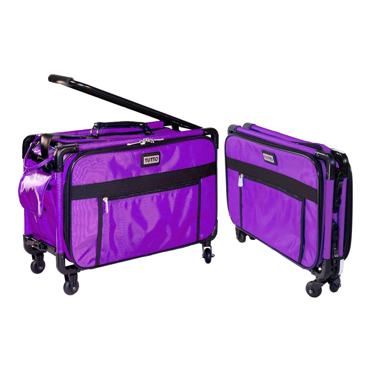 Tutto Machine On Wheels Case 20X13X9-Purple