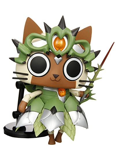 Game Characters Collection Monster Hunter Portable 3 Moving! Felyne [JAPAN]  by Megahouse
