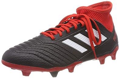 best website fb51a 2bdc5 adidas Herren Predator 18.3 Fg Fußballschuhe, Schwarz (NegbásFtwblaRojo  001)