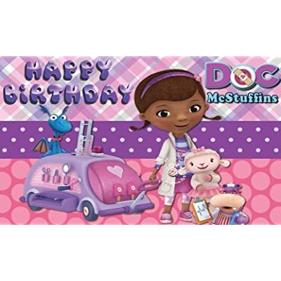 Doc McStuffins Backdrop | Birthday | Girl | Party Supplies | Banner | Background | Photography: Camera & Photo