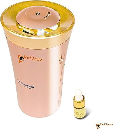 Purificador de aire Refinne (5 en 1 métodos de filtración), ionizador, aromaterapia, desodorización, esterilización ...