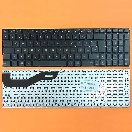 Teclado Compatible con ASUS X540UP, X540UV alemán, Color ...