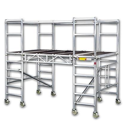 Altec AluDeck 300-3, 2 plegable/plegable, nuevo, con ruedas,