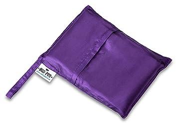 Doble asentir-pod saco de dormir Art-Seda - varios colores Morado morado: Amazon.es: Deportes y aire libre