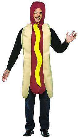 Amazon.com Rasta Imposta Lightweight Hot Dog Costume Multi-Colored One Size Clothing  sc 1 st  Amazon.com & Rasta Imposta Lightweight Hot Dog Costume