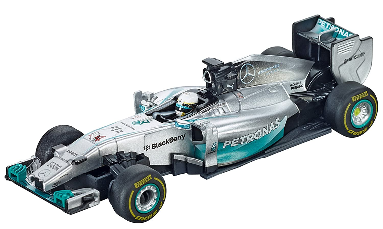 Carrera 'Go' Mercedes-Benz F1 W05 Hybrid L. Hamilton, No. 44, escala 1:43 (20064039) No. 44 coche slot vehículo
