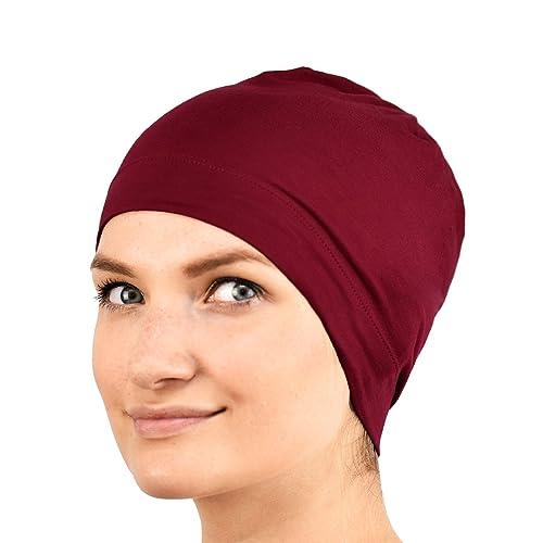 Jasmine seta 100% Seta Sleep Cap–adatto per chemioterapia e perdita di capelli–Cardani Chemo Cancro ...