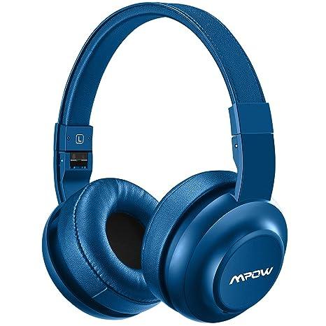 Mpow H2 Auriculares Bluetooth Diadema Cerrados con 4 Modos de EQ Sonido 20 horas Reproducción de