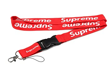 Supreme Lanyard Calzador de doble cara rojo urbano para ...