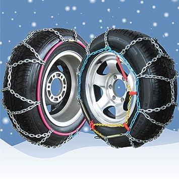 Cadenas de nieve para ruedas de 205 60 16 - 16 mm 4 x 4/Van snowchains (1 par): Amazon.es: Coche y moto