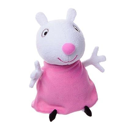 """Nickelodeon Peppa Pig 7"""" Plush: Suzy Sheep"""