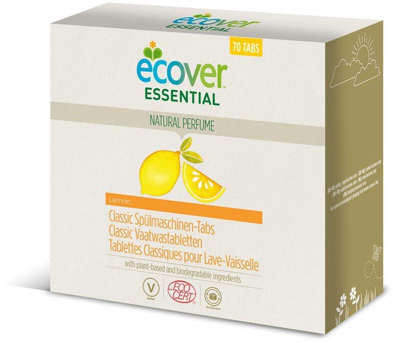 Pastillas Ecover Classic para lavavajillas, limón, calidad ...