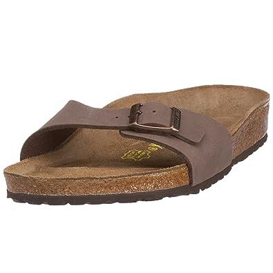 f3b94ddf2f1 Birkenstock Madrid 040091 Mocca Nubuck 39 EU  Amazon.co.uk  Shoes   Bags