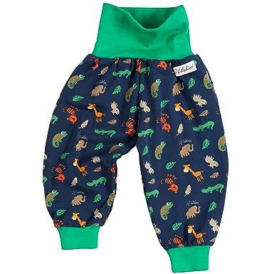 "50//56-134//140 Made in Germany Lilakind/"" Baby Kinder Hose Babyhose Kinderhose Pumphose Sweat Dinosaurier Blau Gr"