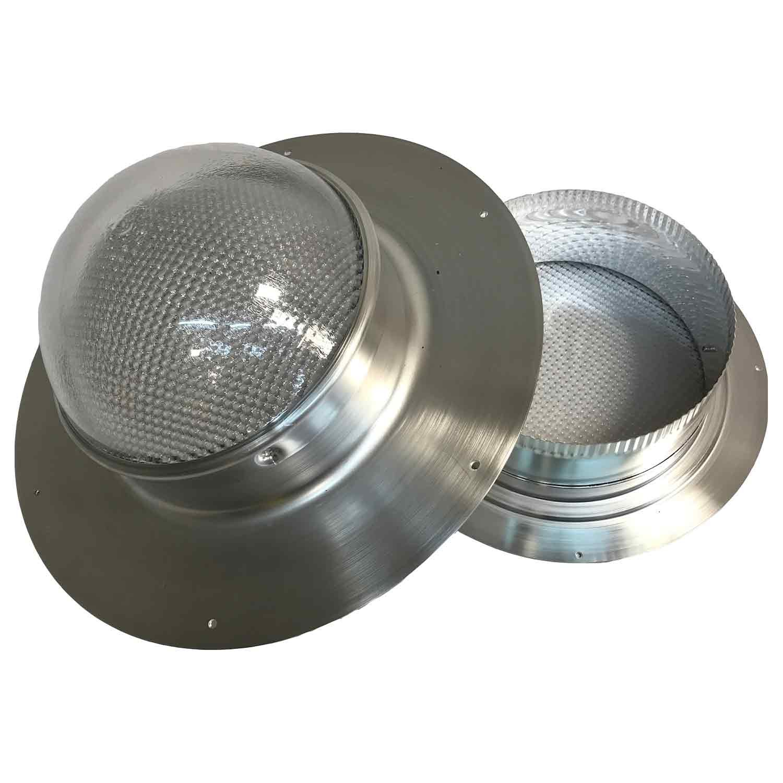 Solar LightBlaster for Shingled Sheds (Solar Tube Skylight for shed Applications) by Solar Blaster