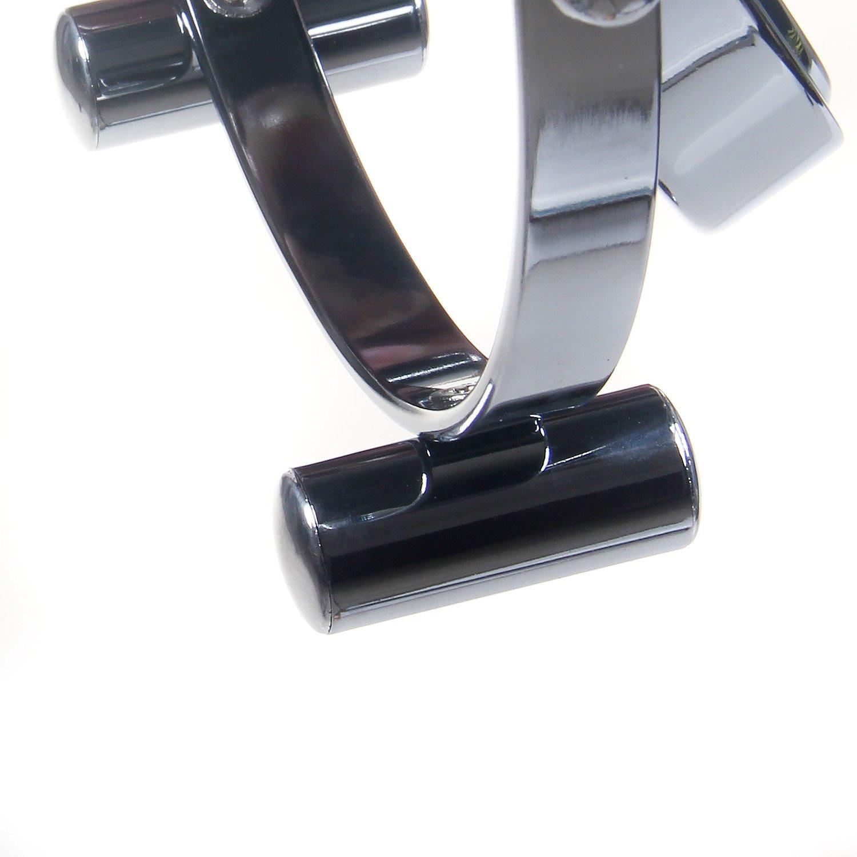 Verchromten Schminkspiegel Rasierspiegel Tischspiegel Badzimmerspiegel TKD3141-5x TUKA Standspiegel 5 Fach Vergr/ö/ßerung 8 inch Kosmetikspiegel 360/° drehbar Doppelseitig: Normal+ 5X Vergr/ö/ßerung