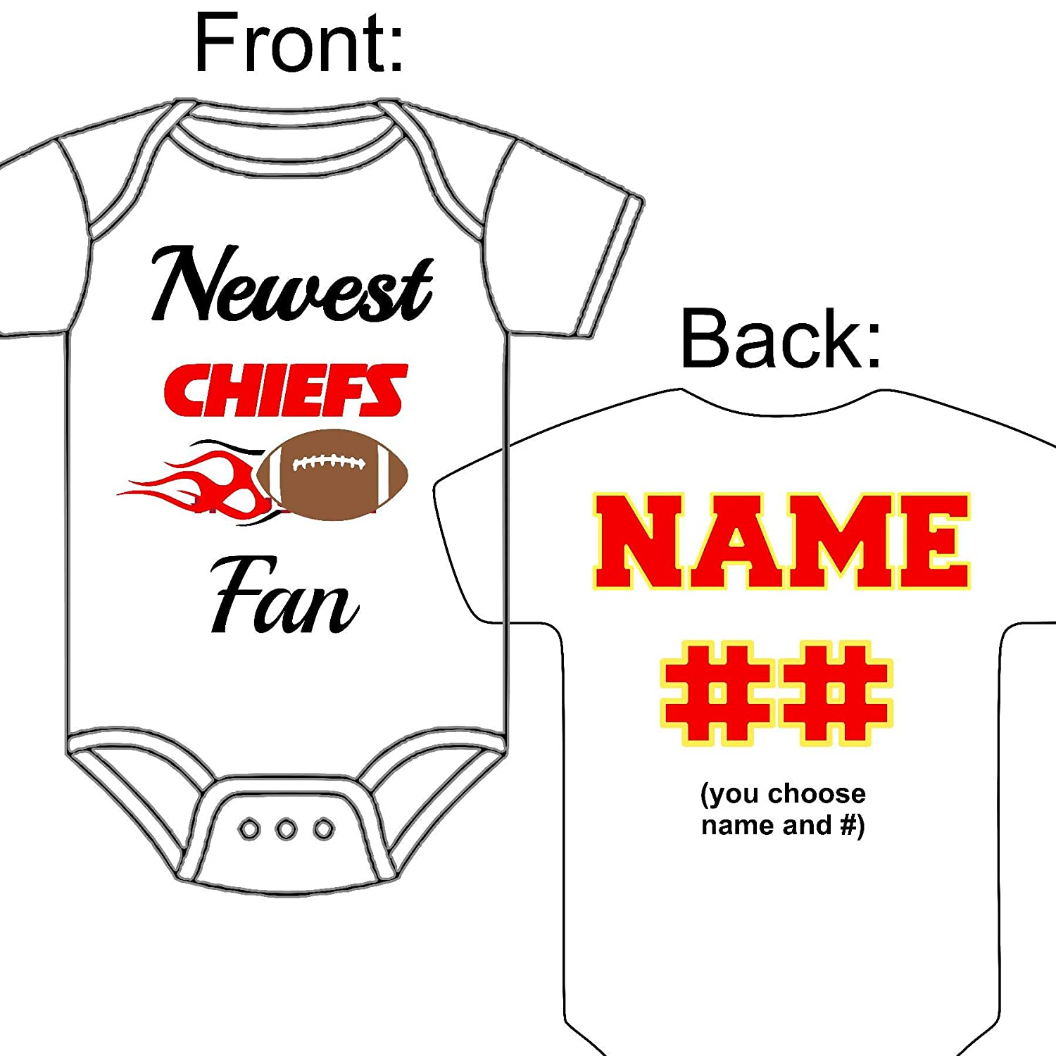 chiefs jersey personalized