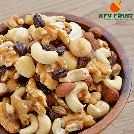 7 tipos de frutos secos sin sal sin aditivos frutos secos mezclados 300 g de galletas: Amazon.es: Alimentación y bebidas