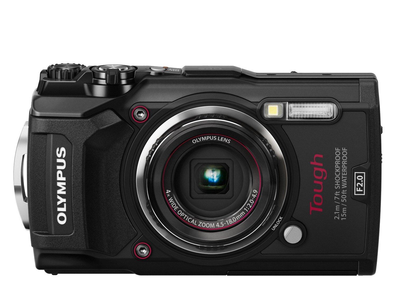 Olympus Tough TG-5 Digitalkamera (Schwarz)