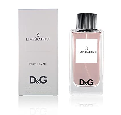 D G Dolce Gabbana   e n. 3 Limperatrice Unisex Eau De Toilette Perfume 100  ml 0be3ec2fc7a