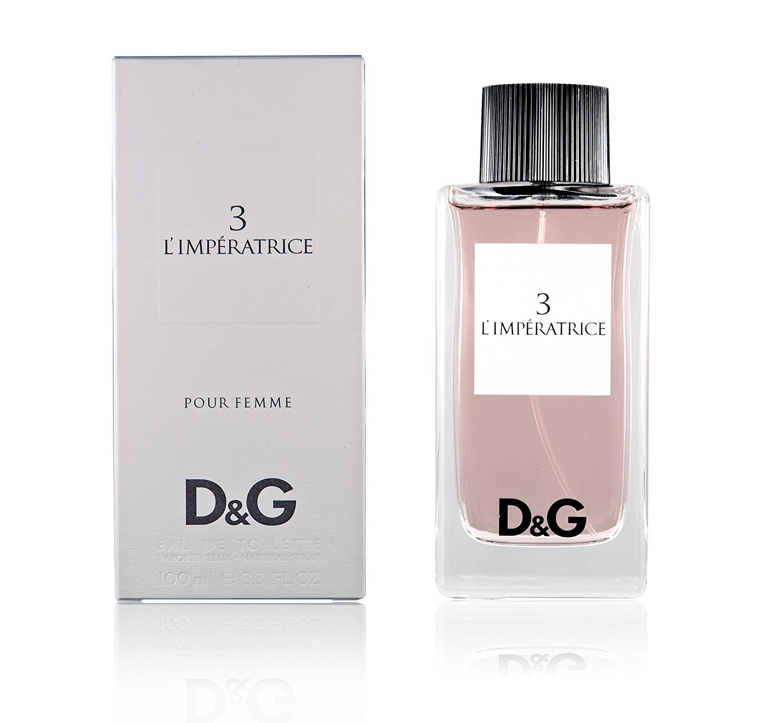 Dolce and Gabbana D & G No 3 Limperatrice EDT Perfume 100ml Pour Femme
