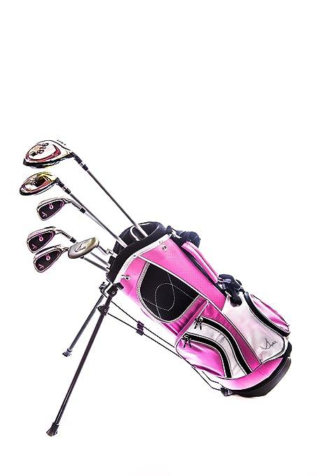 Amazon.com: sephlin – Lady e las niñas Rosa Juego de golf y ...