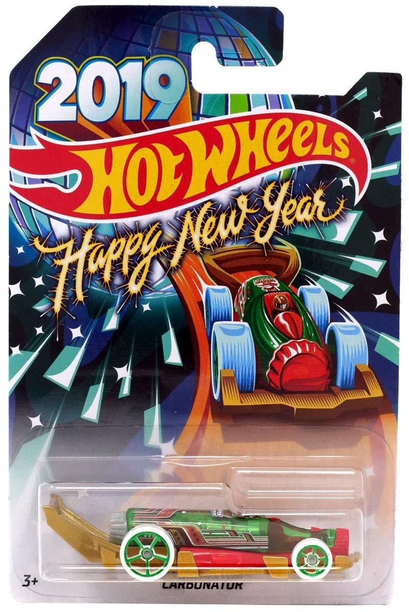 Hot Wheels 2019 Happy New Year Carbonator Bottle Opener Car Mattel Inc.