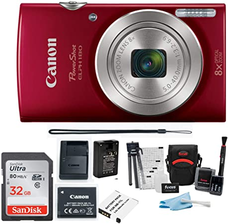 Canon ELPH 180 product image 8