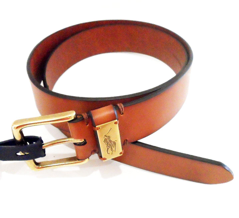 Ralph Lauren - Cinturón - para hombre Marrón Black/tan Talla única ...