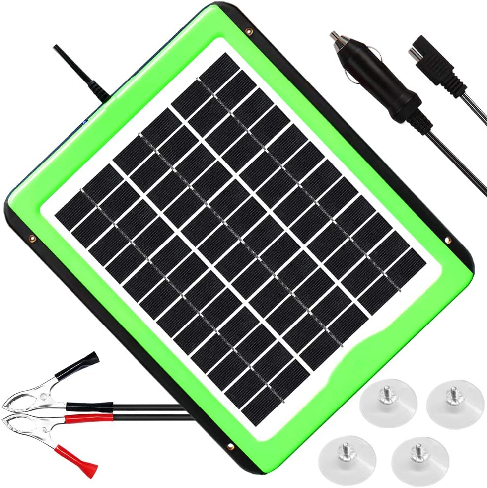 SOLPERK Solar Car Battery Charger and Maintainer