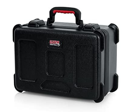 Amazon.com: Gator Cases Molded Flight Case to Hold Up to (15) Wired Microphones with TSA Approved Locking Latch and Cable Storage; (GTSA-MIC15): Musical ...