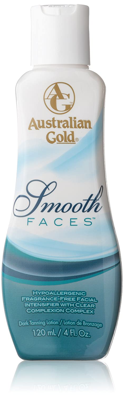 Ausrialian Gold Smooth Faces Facial Intensifier Tanning Lotion, 4 Fluid Ounce Australian Gold Setaf_74