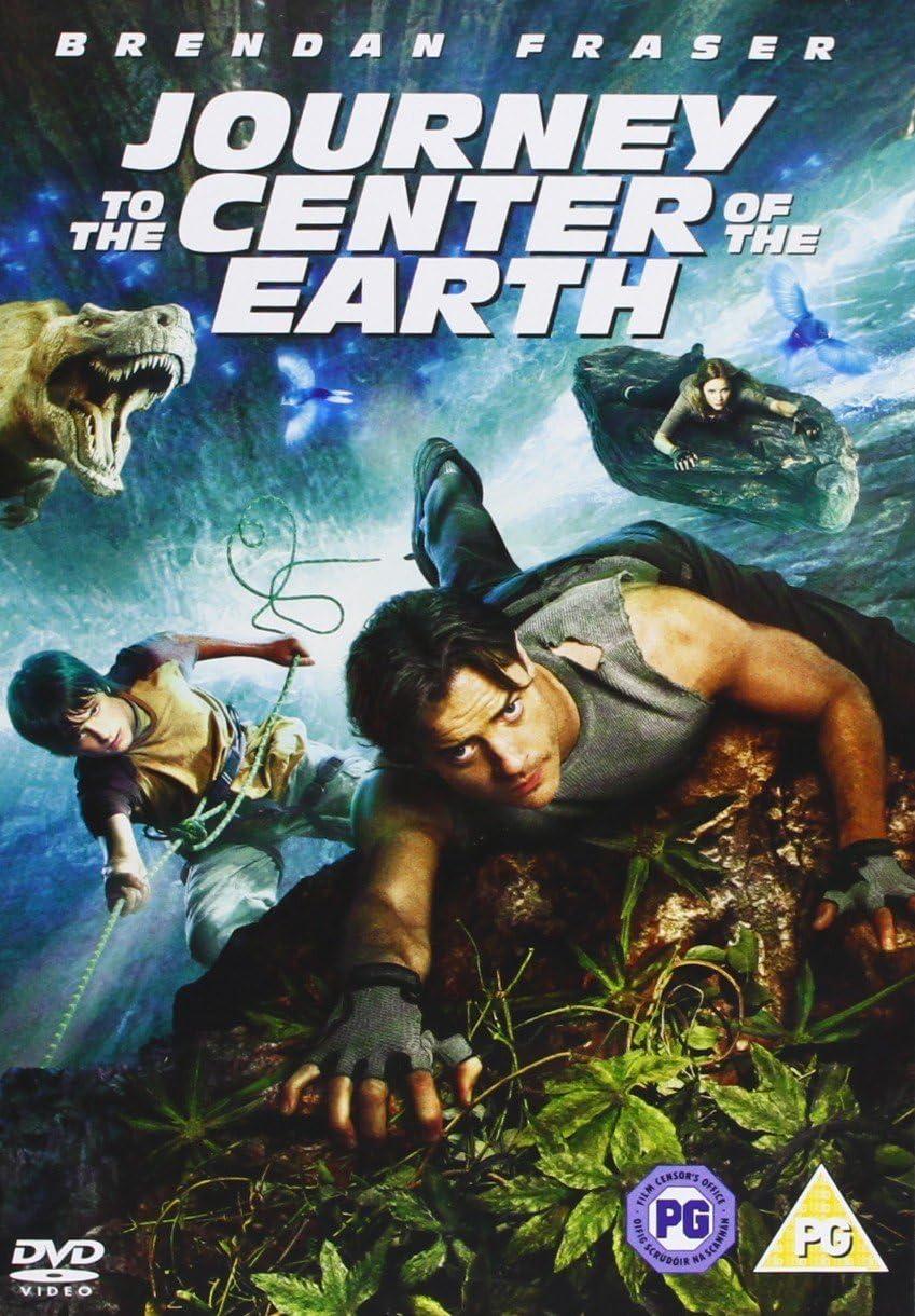 Journey To The Center Of The Earth 3d 2008 Dvd Amazon Co Uk Brendan Fraser Brendan Fraser Dvd Blu Ray