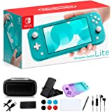 "Newest Nintendo Switch Lite - 5.5"" Touchscreen Display, Built-in Plus Control Pad - Family Holiday Gaming Bundle - 802.11ac W"