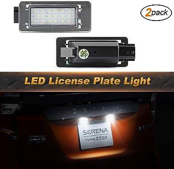 1 par luces indicadoras de direcci/ón para Aud-i A2 A3 8L A4 B5 A6 4B C5 A8 4D TT 8N Lente ahumada OZ-LAMPE LED luces de giro marcadoras laterales color /ámbar